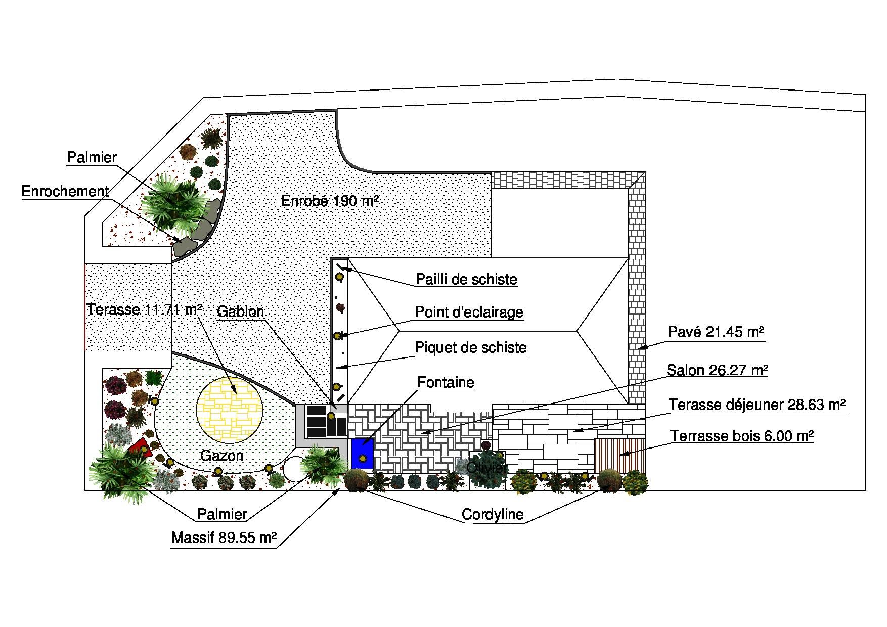 Plan de jardin for Plan de jardin